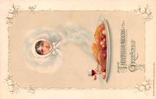 hol064441 - Thanksgiving Postcard Old Vintage Antique Post Card
