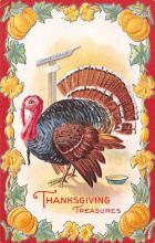 hol064453 - Thanksgiving Postcard Old Vintage Antique Post Card