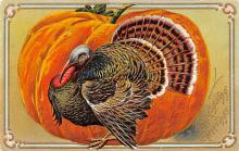 hol064463 - Thanksgiving Postcard Old Vintage Antique Post Card