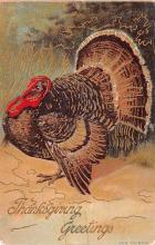 hol064481 - Thanksgiving Postcard Old Vintage Antique Post Card
