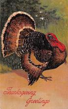 hol064493 - Thanksgiving Postcard Old Vintage Antique Post Card