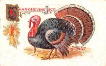 hol064589 - Thanksgiving Postcard Old Vintage Antique Post Card