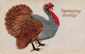 hol064597 - Thanksgiving Postcard Old Vintage Antique Post Card