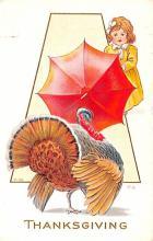 hol064613 - Thanksgiving Postcard Old Vintage Antique Post Card