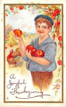 hol064671 - Thanksgiving Postcard Old Vintage Antique Post Card