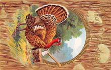 hol064675 - Thanksgiving Postcard Old Vintage Antique Post Card