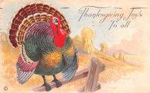 hol064683 - Thanksgiving Postcard Old Vintage Antique Post Card