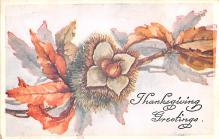 hol064713 - Thanksgiving Postcard Old Vintage Antique Post Card
