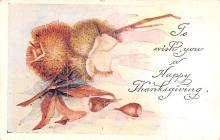 hol064715 - Thanksgiving Postcard Old Vintage Antique Post Card
