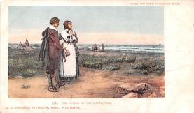 hol064727 - Thanksgiving Postcard Old Vintage Antique Post Card