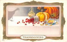 hol064741 - Thanksgiving Postcard Old Vintage Antique Post Card
