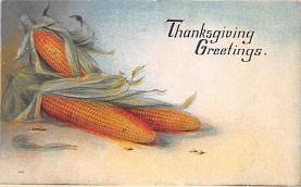 hol064743 - Thanksgiving Postcard Old Vintage Antique Post Card