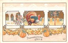 hol064747 - Thanksgiving Postcard Old Vintage Antique Post Card