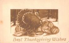 hol064761 - Thanksgiving Postcard Old Vintage Antique Post Card