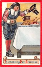 hol064817 - Thanksgiving Postcard Old Vintage Antique Post Card