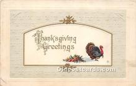 hol065061 - Thanksgiving Greeting Postcard