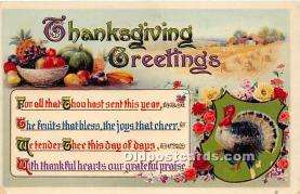 hol065064 - Thanksgiving Greeting Postcard