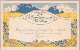 hol065069 - Thanksgiving Greeting Postcard