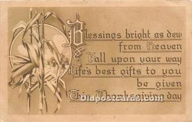 hol065085 - Thanksgiving Greeting Postcard