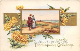 hol065101 - Thanksgiving Greeting Postcard