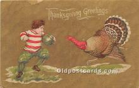 hol065105 - Thanksgiving Greeting Postcard