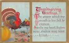 hol065107 - Thanksgiving Greeting Postcard