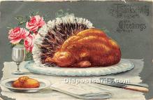 hol065109 - Thanksgiving Greeting Postcard