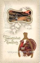 hol065160 - Thanksgiving Greeting Postcard