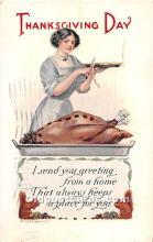 hol065177 - Thanksgiving Greeting Postcard