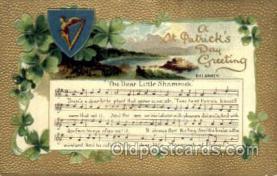 hol070031 - St. Saint Patrick's Day Postcard Postcards