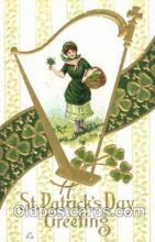hol070065 - Artist Samuel Schmucker? St. Saint Patrick's Day Postcard Postcards