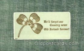 hol070161 - St. Patricks Day Postcard Postcards