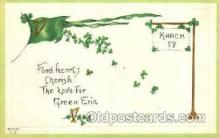 hol070163 - St. Patricks Day Postcard Postcards