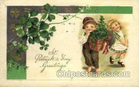 hol070164 - St. Patricks Day Postcard Postcards