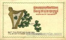 hol070187 - St. Patricks Day Postcard Postcards