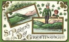 hol070251 - St. Patricks Day Postcard Postcards