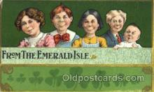 hol070257 - St. Patricks Day Postcard Postcards