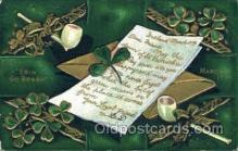 hol070279 - St. Patricks Day Postcard Postcards