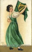 hol070396 - Artist Ellen Clapsaddle, St. Patricks Day, Postcards Post Card