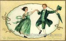 hol070410 - Artist Ellen Clapsaddle, St. Patricks Day, Postcards Post Card