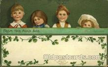 hol070415 - Artist Ellen Clapsaddle, St. Patricks Day, Postcards Post Card