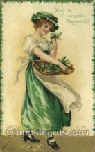 hol070420 - Artist Ellen Clapsaddle, St. Patricks Day, Postcards Post Card