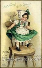hol070424 - Artist Ellen Clapsaddle, St. Patricks Day, Postcards Post Card