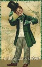 hol070425 - Artist Ellen Clapsaddle, St. Patricks Day, Postcards Post Card