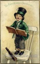 hol070429 - Artist Ellen Clapsaddle, St. Patricks Day, Postcards Post Card