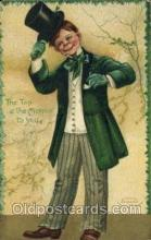 hol070431 - Artist Ellen Clapsaddle, St. Patricks Day, Postcards Post Card