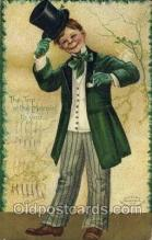 hol070433 - Artist Ellen Clapsaddle, St. Patricks Day, Postcards Post Card