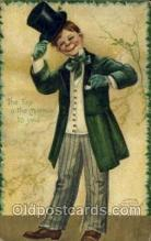 hol070434 - Artist Ellen Clapsaddle, St. Patricks Day, Postcards Post Card
