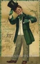 hol070435 - Artist Ellen Clapsaddle, St. Patricks Day, Postcards Post Card