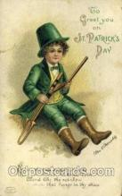 hol070436 - Artist Ellen Clapsaddle, St. Patricks Day, Postcards Post Card
